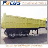 Lever Cimc 3-as Tippende Aanhangwagen van de Vrachtwagen van de Kipper Semi