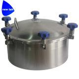 Couverture ronde sanitaire de l'acier inoxydable SS304 SS316L Mandoor