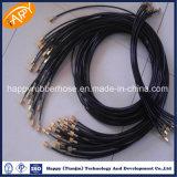 R7 / R8 fibra sintética trançada a mangueira hidráulica de alta pressão/ Mangueira de nylon/mangueira de borracha