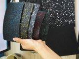 8 mm de espessura da borracha coloridas Ginásio do rolo do piso