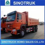 Autocarro con cassone ribaltabile resistente di estrazione mineraria di Sinotruk HOWO da vendere