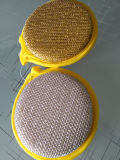 ベストセラーの台所によって使用されるファイバーの布のクリーニングのスポンジ