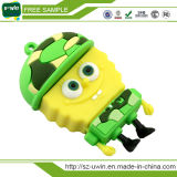 O PVC personalizadas Spongebob disco flash USB
