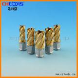 Anular HSS brocas con recubrimiento de estaño (DNHX)