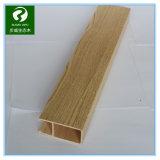 Bois et plafonds composés en plastique de panneau de mur du panneau WPC de porte coulissante