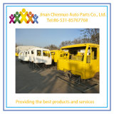 中国王王子大型トラック280の馬力6X2ダンプトラックはインドの主要な市場を分ける