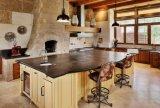 Controsoffitto personalizzato della pietra del nero della mobilia della cucina