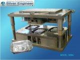 アルミホイルの容器キャビティ型