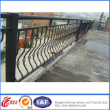 Cerca revestida del balcón del hierro del polvo de la seguridad/cerca/pasamano económicos del balcón del hierro