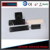 1000W 245x60mm fuente de energía eléctrica del calentador de resistencia de cerámica infrarrojos eléctricos