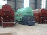De In brand gestoken Boiler van het graan Steel