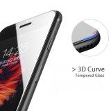 De Gebogen Rand van de Toebehoren van de telefoon 2.5D de Beschermende Aangemaakte Beschermer van het Scherm van het Glas voor iPhone 7