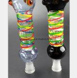 Medusa de vidro da cor tubulação de água de 10.63 polegadas que recicl o filtro