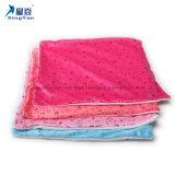 昇華ブランク枕箱の単一の表面くまパターン白+赤いですか淡いブルー
