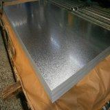 Toit de métal de tôle ondulée sur les panneaux de toit couleur laminé à froid plaque en acier galvanisé recouvert de galvalume