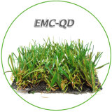 Tappeto erboso artificiale di pulizia del giardino di paesaggio dell'erba facile di falsificazione per i verdi mettenti
