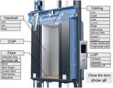 Bâtiment de haute élévation ascenseur avec petite salle de la machine