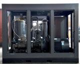 Milieuvriendelijke de Compressor in twee stadia van de Lucht van de Schroef van de Waterkoeling