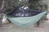 Hamac léger campant campant de vitesses de voyageur facile avec le réseau d'insecte
