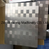 Alumnium-Composite Placa Mosaico de vidrio con una buena calidad