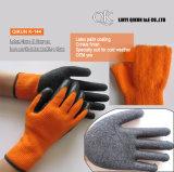 Gants fonctionnants de sûreté de latex en nylon de pli de polyester des mesures K-142 13