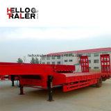 中国の工場50トン3の車軸BPW車軸販売のための低いベッドのトレーラー