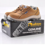 Zapatos de seguridad vendedores calientes con la punta de acero para los trabajadores L-7111