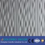 El panel de pared del MDF de la decoración del hogar de la resistencia de humedad de la pared del fondo