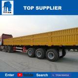 Het Voertuig van de titaan - Vrachtwagen van de Lading van de Omheining van de Oplegger van de Lading Flatbed 40t