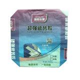 3 Papel de las capas de fondo cuadrado 25kg Putty Bolsa de cemento cal