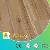 suelo laminado laminado de madera de madera de roble de la perla de 12.3m m E1 HDF AC4