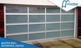 Commercial UseのためのアルミニウムGlass Door/Aluminum Frame Garage Door