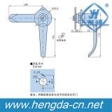 Gabinete industrial L fechamento do fechamento do punho de porta da liga do zinco da alta qualidade do punho (YH9672)