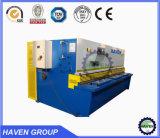 Hydraulische Träger-Scher-und Ausschnitt-Maschine des Schwingen-QC12Y-10X2500