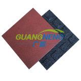 Mattonelle della gomma Floor//Interlocking/pavimentazione di gomma antiscorrimento esterna della palestra/pavimentazione di gomma sport variopinti