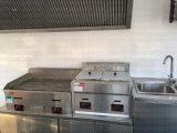 Mobile Cer-Sahne-Schlussteile mit Küche-Gerät rauchlosem BBQ-Lagerbewohner Van