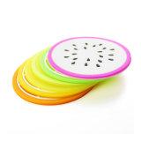 Vente en gros Design créatif résistant à la chaleur rond lavable en silicone dur