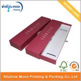 Конструкция коробки изготовленный на заказ горячего выдвижения волос подарка картона сбывания красного бумажного упаковывая (QYZ027)