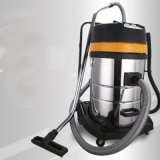 aspirapolvere asciutto bagnato industriale del bastone elettrico arancione di colore del serbatoio dell'acciaio inossidabile di 80L 3motors