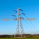 110kv-500 Kv perfiles de acero de la torre de transmisión de energía de la producción Factory