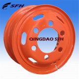 Стальная оправа колеса для легкой тележки (6.5-16)