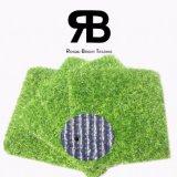hierba sintetizada del césped artificial del césped de la alfombra de 25m m para la decoración del jardín