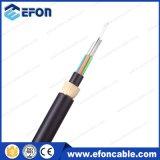 24/72/96 câble de fibre optique blindé du filé en verre ADSS de faisceau (GYFTY53-FS)