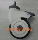 Freno de 4 pulgadas de la rueda Universal para Camilla Carro / / orientable para equipos de ayudas para caminar / para diversos equipos de instrumentos