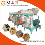 يجبر مغذية نوع خشبيّة كريّة طينيّة إنتاج آلة