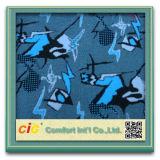Poliéster de confeção de malhas da tela do jacquardTela
