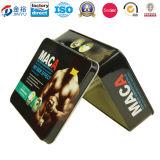 Высокорослая прямоугольная коробка олова для коробки Jy-Wd-2015112736 олова пакета подарка