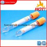 La Chine vide du tube de prélèvement sanguin jetable