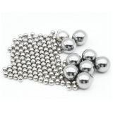 La bola de acero cromado con diferentes diámetros y grados
