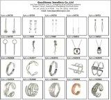색깔 돌 목걸이 귀걸이는 형식 보석 고정되는 S3376를 위해 놓았다